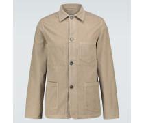 Hemdjacke aus Baumwollcord