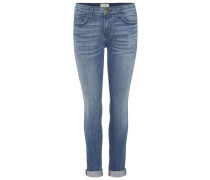 The Rolled Skinny Jeans