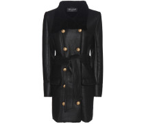 Mantel aus Leder