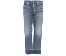 Cropped Jeans Cora aus Stretchdenim