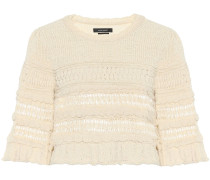 Cropped-Pullover Friz