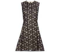 Kleid Hexagon Flare aus Spitze und Seide