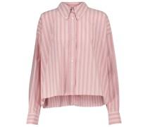 Gestreiftes Hemd Alanis aus Baumwolle
