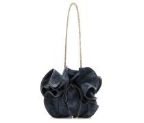 Bucket-Bag Lily aus Veloursleder
