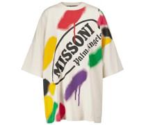 X Missoni T-Shirt aus Baumwolle