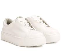 Sneakers Doja aus Leder