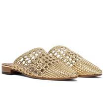 Slippers Espalmador aus Leder
