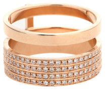 Ring Berbere aus 18kt Roségold mit Diamanten