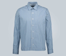 Gestreiftes Hemd Bob aus Baumwolle