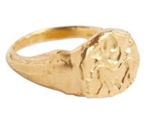 Vergoldeter Ring Gemini aus Sterlingsilber