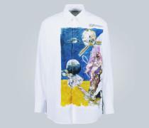 Hemd Spaceland aus Baumwolle