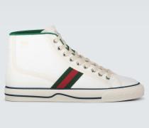 High-Top-Sneakers Tennis 1977