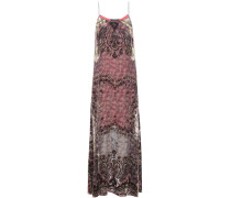 Kleid aus Devoré-Samt