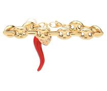Vergoldetes Armband mit Perle