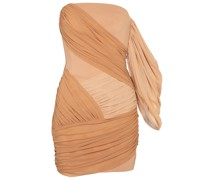 Minikleid aus Chiffon