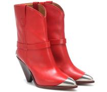 Ankle Boots Lamsy aus Leder