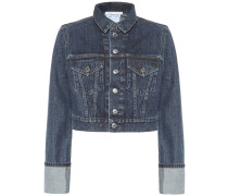 Cropped-Jeansjacke Fem Little