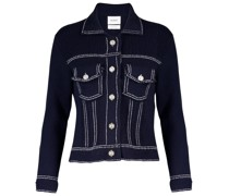 Jacke aus Baumwolle und Kaschmir