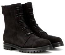 Veloursleder-Boots Haze Flat