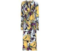 Crêpe-Kleid mit Blumenprint