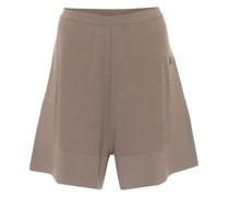 X Moncler Shorts mit Kaschmiranteil