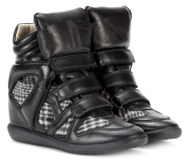 Bekett Wedge-Sneakers aus Leder