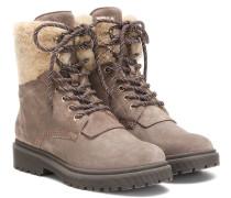 Ankle Boots Patty aus Veloursleder