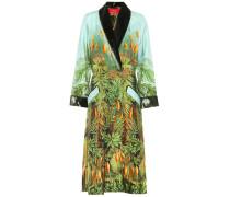 Bedruckter Kimono aus Seide