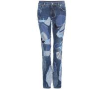Patchwork-Jeans