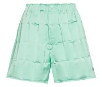 Shorts aus Satin