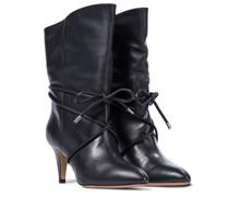 Ankle Boots Lilda aus Leder