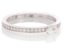 Ring Harvest aus 18kt Weißgold mit Diamanten