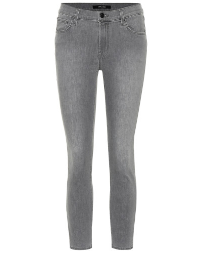 Mid-Rise Cropped Skinny Jeans 835