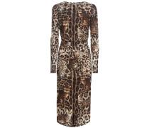 Printkleid aus Seiden-Georgette