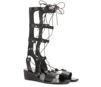 Gladiatoren-Sandalen Thebes aus Leder