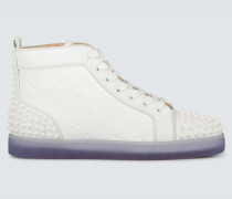 Sneakers Lou Spikes III aus Leder