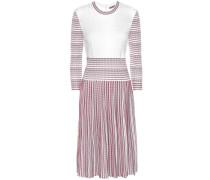 Plissiertes Kleid aus Strick