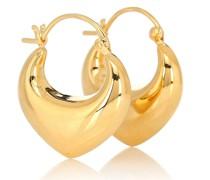 Vergoldete Ohrringe Venetia