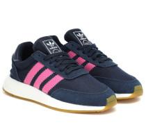 Sneakers I-5923 mit Veloursleder
