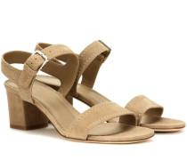 Sandaletten Loa aus Veloursleder