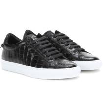 Sneakers Urban Knots aus Leder