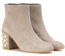 Ankle Boots Mona Pearl aus Veloursleder