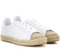 Espadrille-Sneakers Rian aus Leder