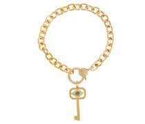 Armband Eye Key aus 14kt Gold mit Diamanten