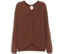 Oversize Pullover aus Kaschmir
