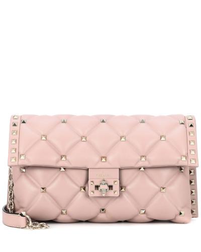 Valentino Damen Garavani Schultertasche Candystud aus Leder Modestil Besuch lh5SgJCy