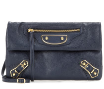 Crossbody-Tasche Classic Metallic Edge Envelope aus Leder