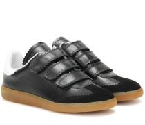 Étoile Sneakers Beth aus Glatt- und Veloursleder