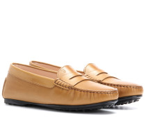 Loafers City Gommino aus Leder