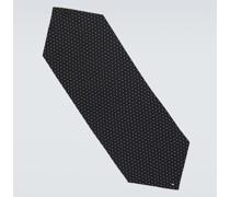 Schal aus Seide mit Polka-Dots